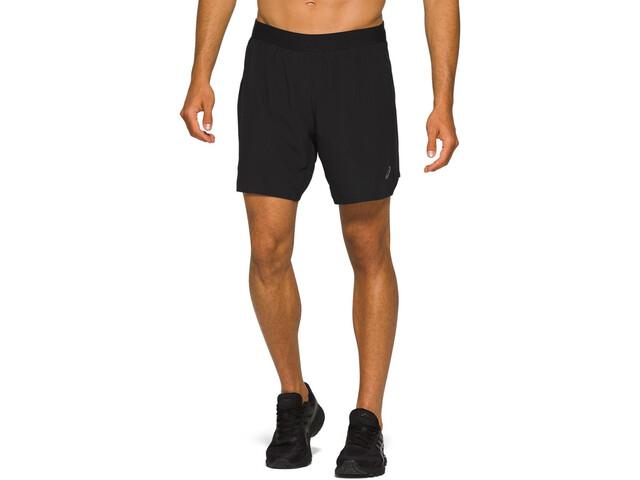"asics Road 2-N-1 7"" Shorts Men performance black"